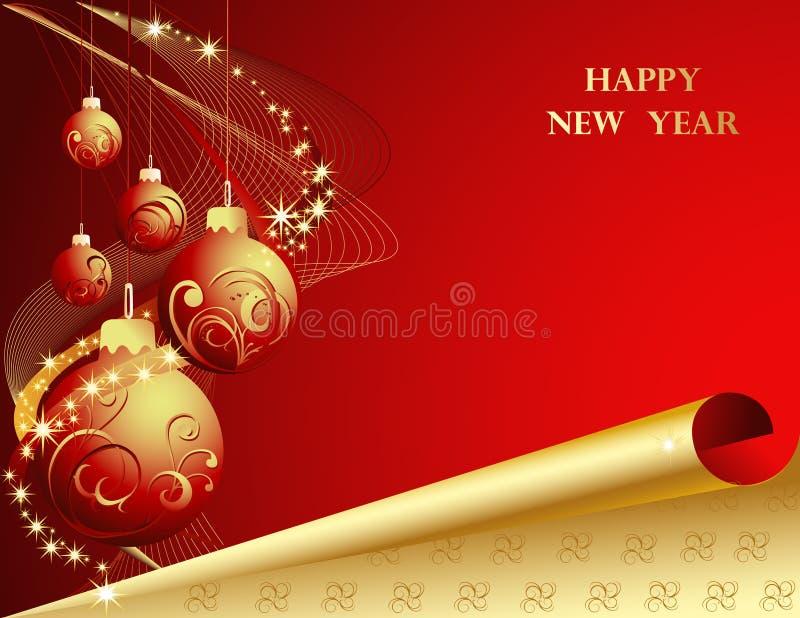 2010 szczęśliwych nowy rok royalty ilustracja