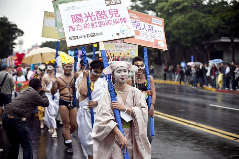 Download 2010 Taiwan LGBT Pride Parade Editorial Image - Image: 16778005
