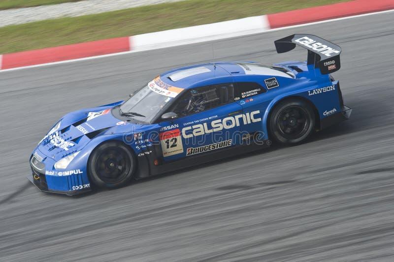 2010 TEAM IMPUL VAN DE REEKS Â VAN AUTOBACS HET SUPER GT royalty-vrije stock fotografie