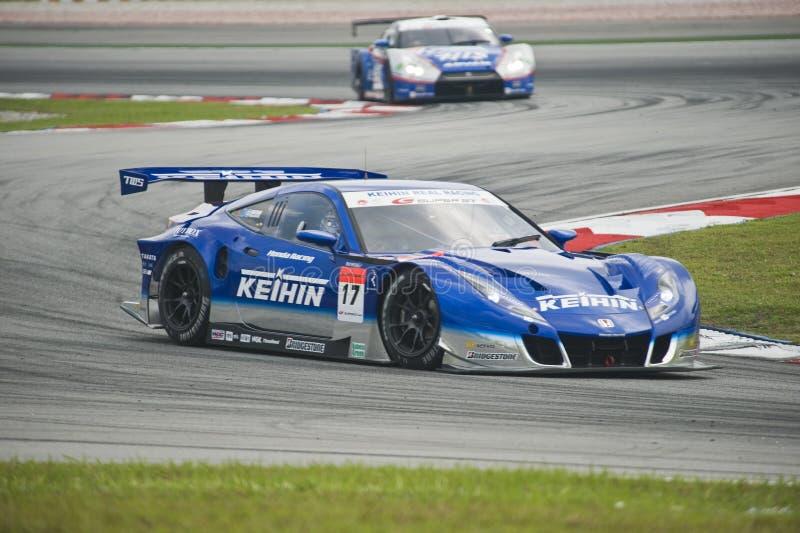 2010 TEAM KEIHIN VAN DE REEKS Â VAN AUTOBACS HET SUPER GT royalty-vrije stock foto's