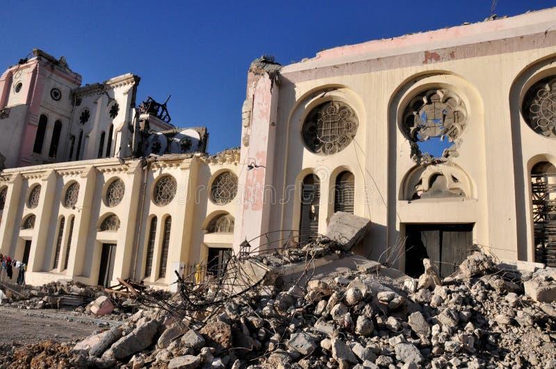 2010 trzęsienie ziemi Haiti zdjęcia stock