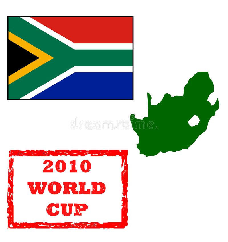 2010 World Cup royalty free illustration