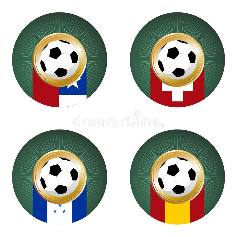 2010 World Cup South Africa Group H royalty free stock photo
