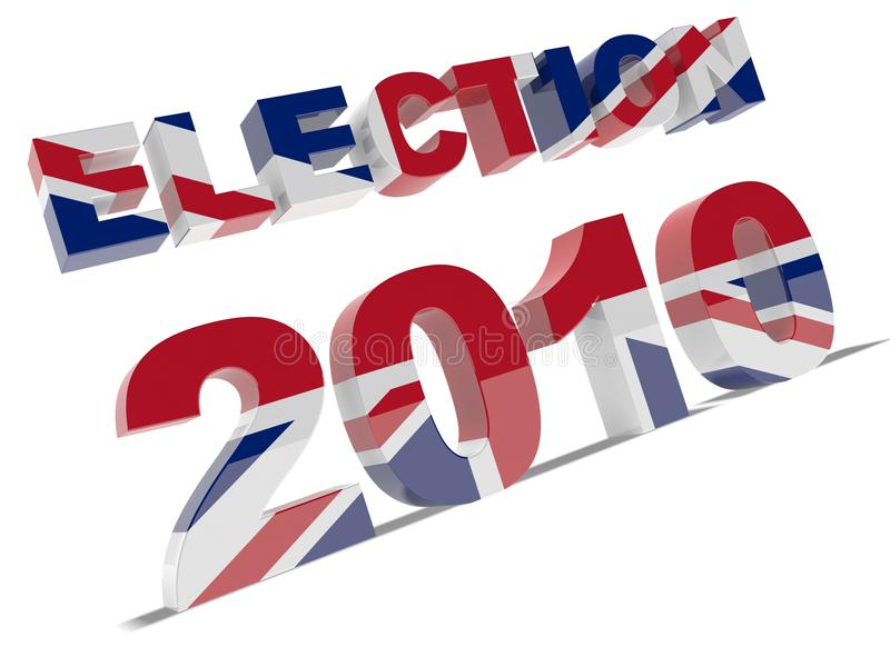 2010 wybory royalty ilustracja
