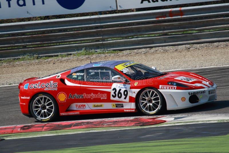 2010 wyzwania europejskich Ferrari serii fotografia royalty free