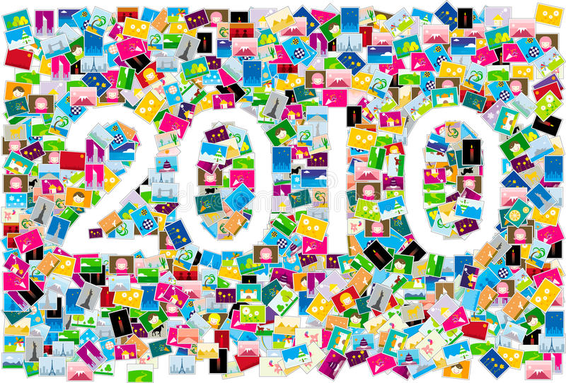 Download 2010 year stock vector. Image of fashion, pattern, 2010 - 11129937