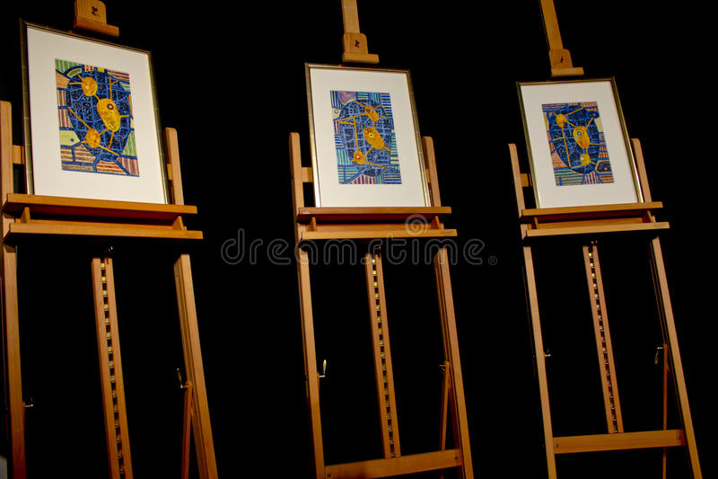 2011个证书诺贝尔和平奖 免版税库存图片