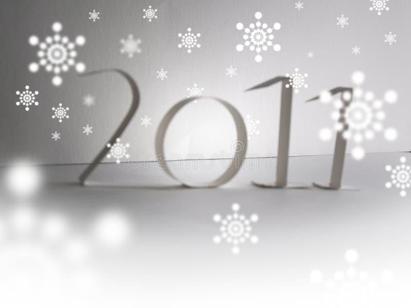 2011年快活的圣诞节 免版税库存图片