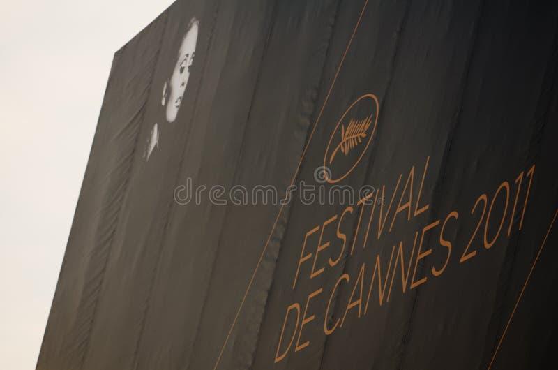 2011年戛纳节日影片法国 免版税库存图片