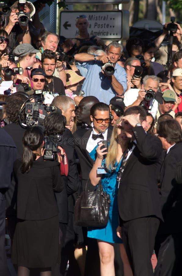 2011年戛纳节日影片法国 免版税图库摄影