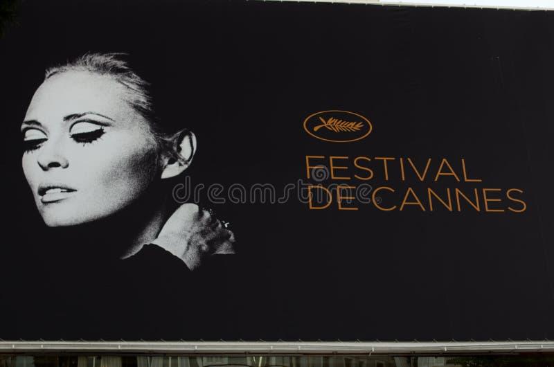 2011年戛纳节日影片法国 免版税库存照片