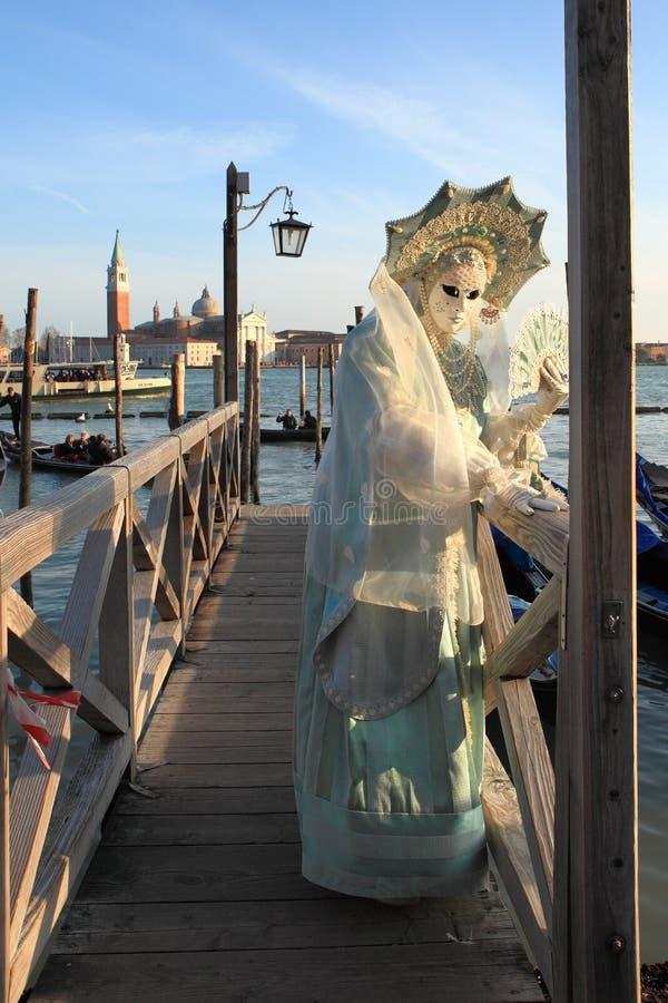 2011年狂欢节传统威尼斯式 免版税库存图片