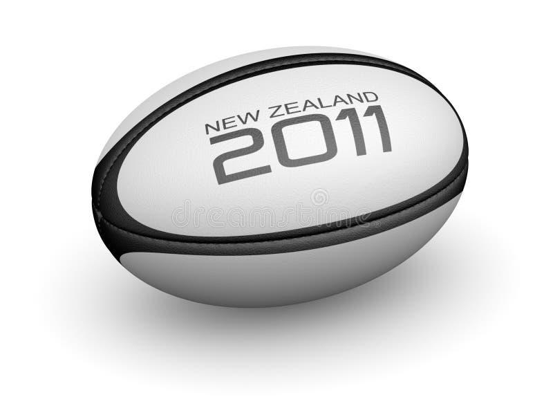 2011年球新的橄榄球西兰 免版税库存图片