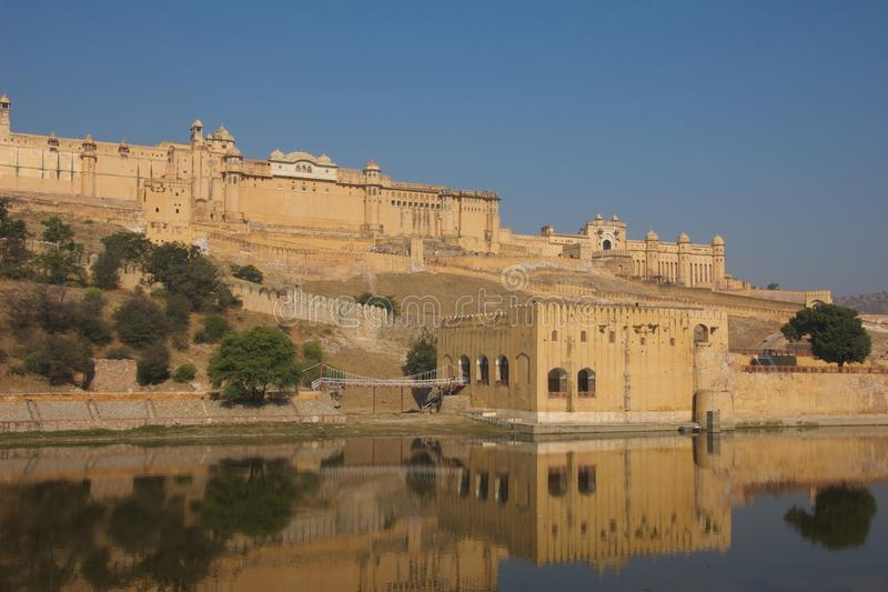 2011年阿梅尔印度11月 库存图片