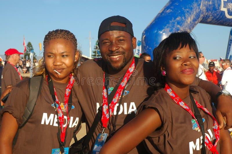 2011年非洲ironman南部 免版税库存图片