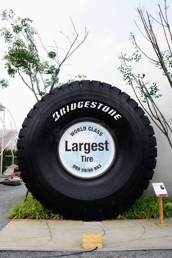 2011年boi bridgestone公平的亭子泰国 免版税库存图片