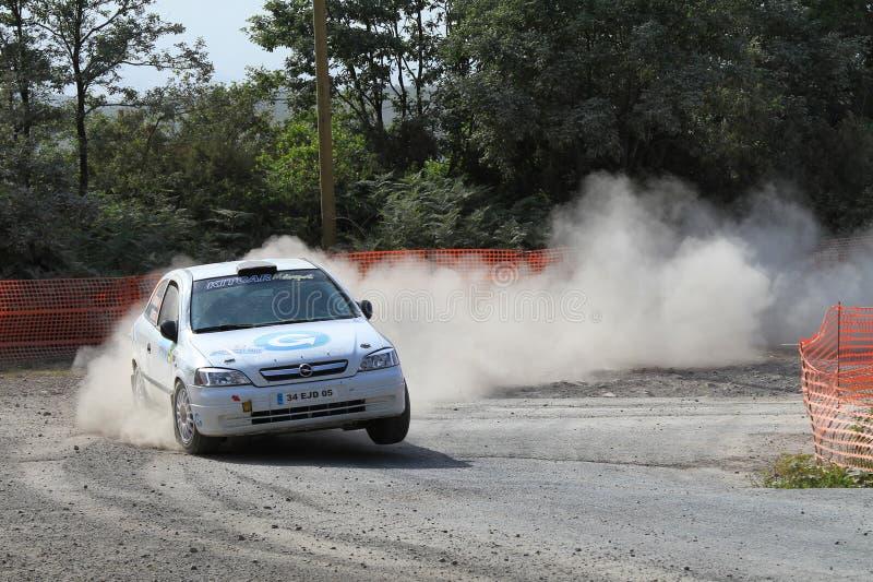 2011年bosphorus erc集会 库存照片