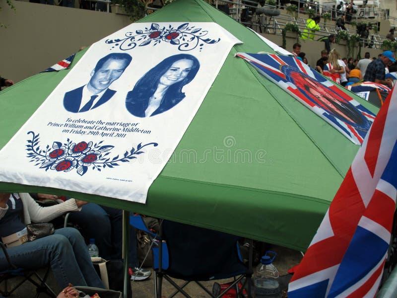 2011皇家婚礼 库存照片