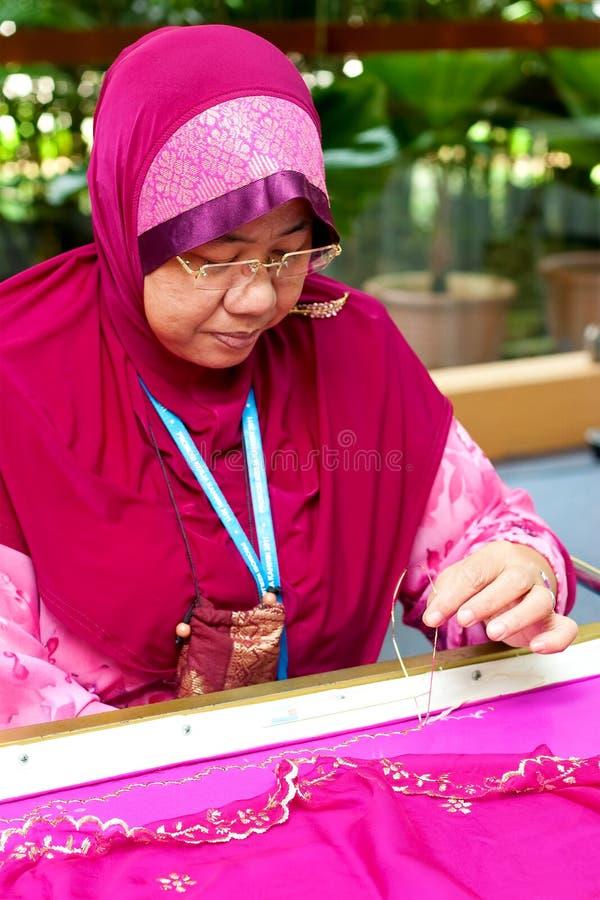 2011种工艺日马来西亚婚礼 库存照片