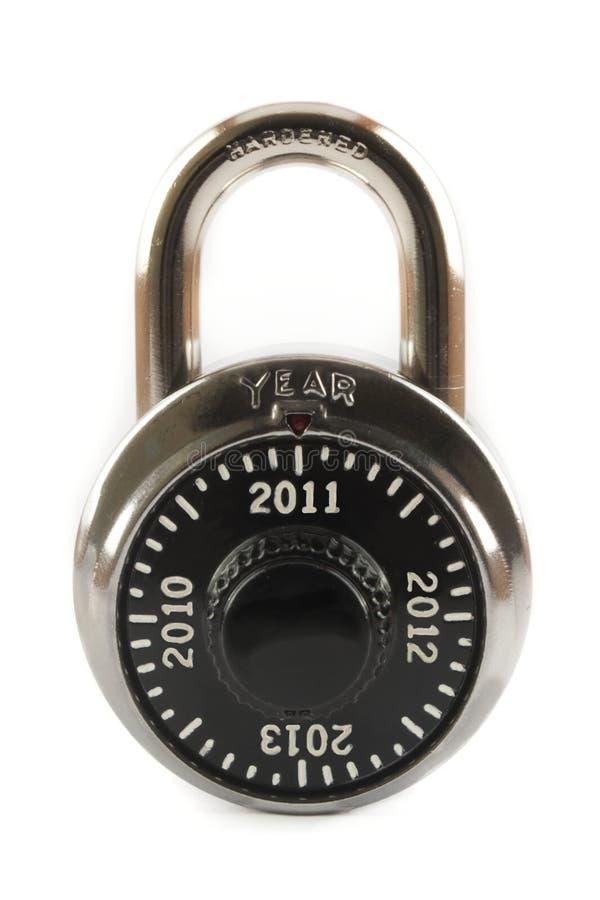 2011锁定新年度 免版税库存图片