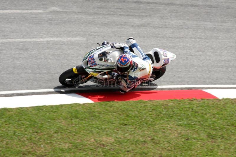 2011马来西亚人motogp 免版税库存图片
