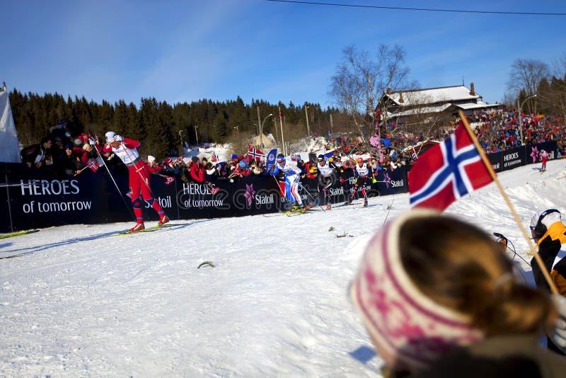 2011 50km mistrzostwa Oslo narciarski świat zdjęcie royalty free