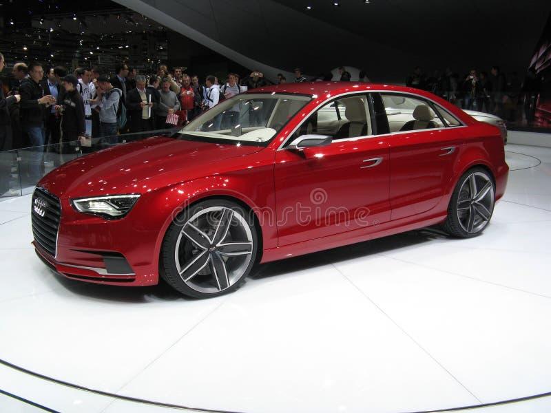 2011 A3 het Concept van de Sedan Audi stock afbeeldingen