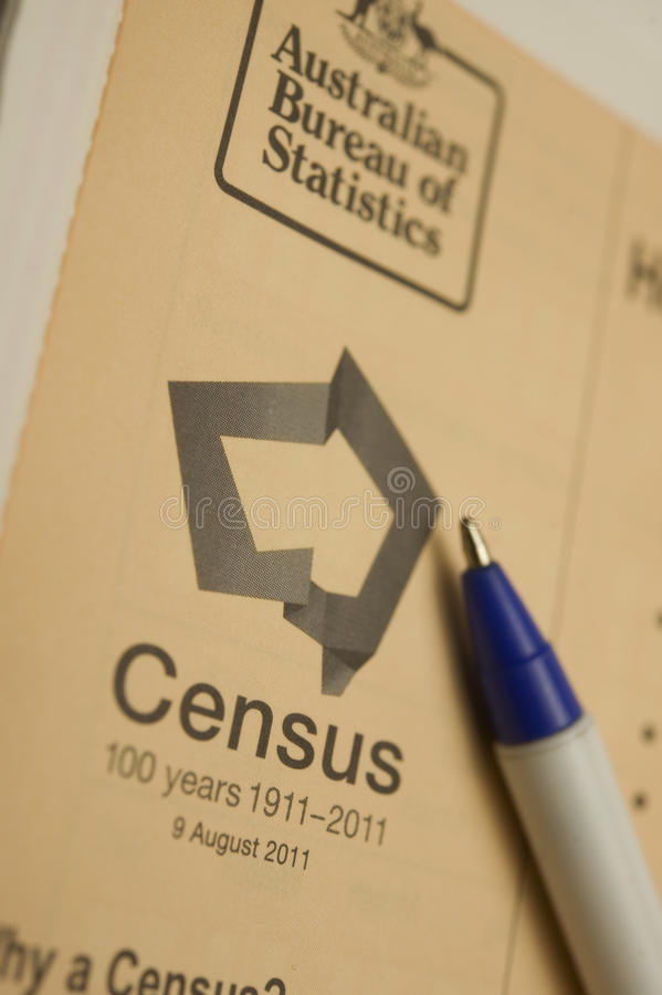 Download 2011 Australian Census editorial stock image. Image of population - 20785004