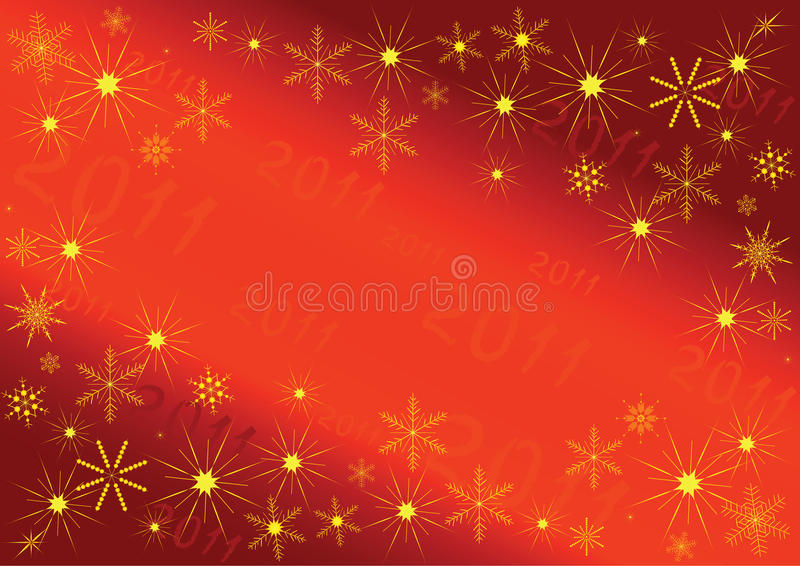 Download 2011 Background stock vector. Image of shadow, frost - 14852827