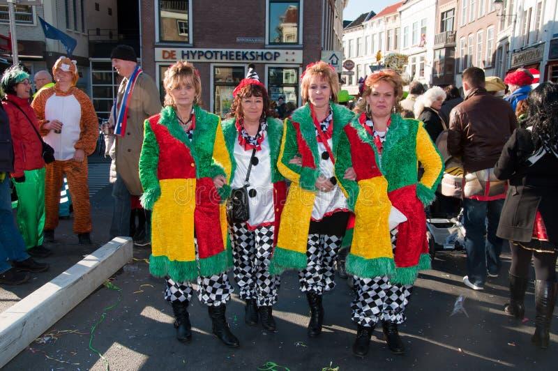 2011 Breda karnawału holandie obrazy royalty free