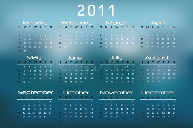 Download 2011 Calendar stock illustration. Image of april, background - 14866515