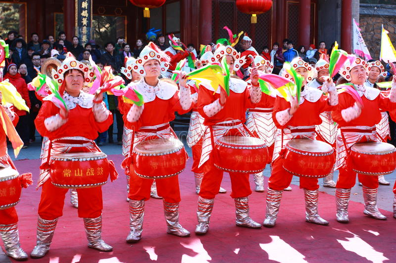 2011 Chinese Temple Fair royalty free stock photo
