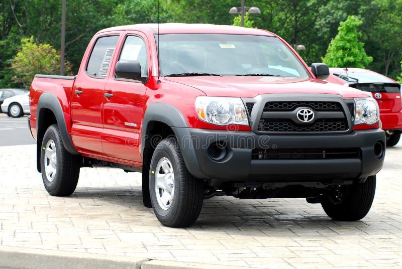 2011 de vrachtwagen van Toyota Tacoma royalty-vrije stock afbeeldingen