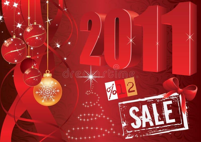 2011 elementu promocyjny sprzedaży setu wektor ilustracji