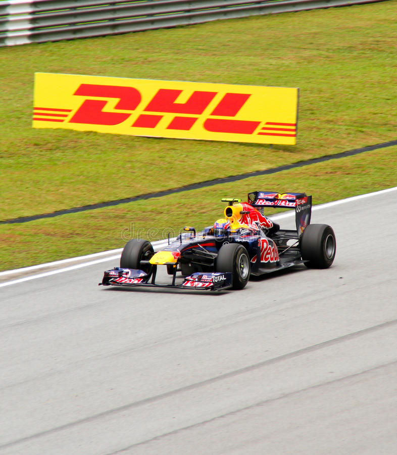 2011 f1 grandprix Malaysia sepang obraz royalty free