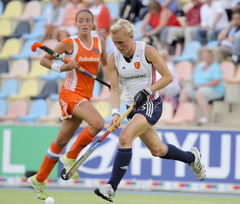 2011 filiżanka England europejski Germany hokejowy Holland v obraz stock