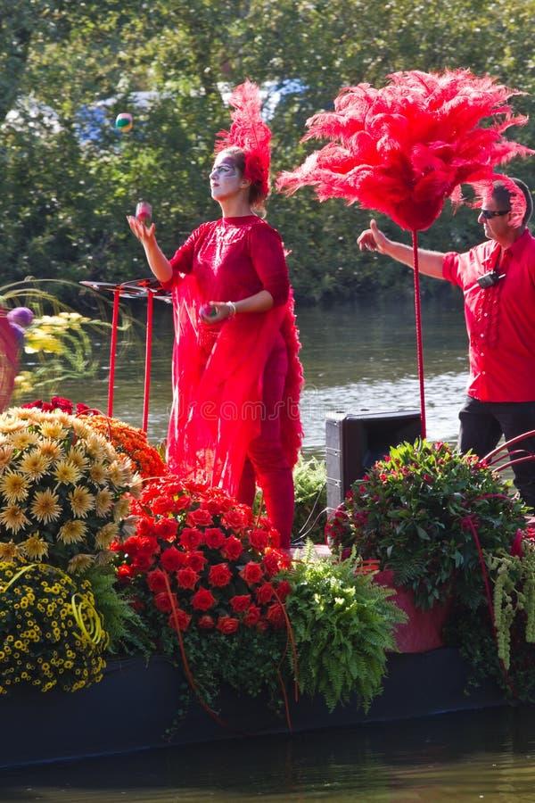 2011 flottörhus blomma ståtar westland royaltyfri foto