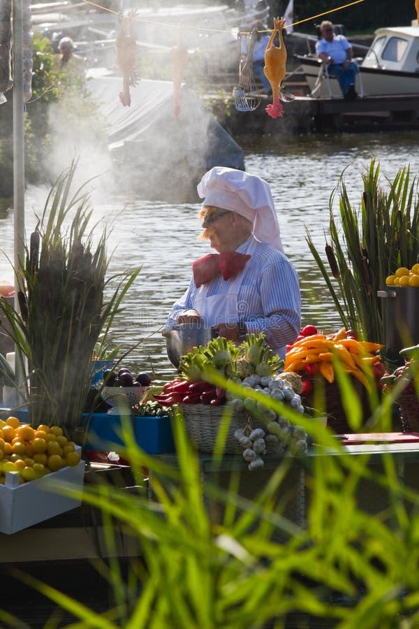 2011 flottörhus blomma ståtar westland arkivfoto