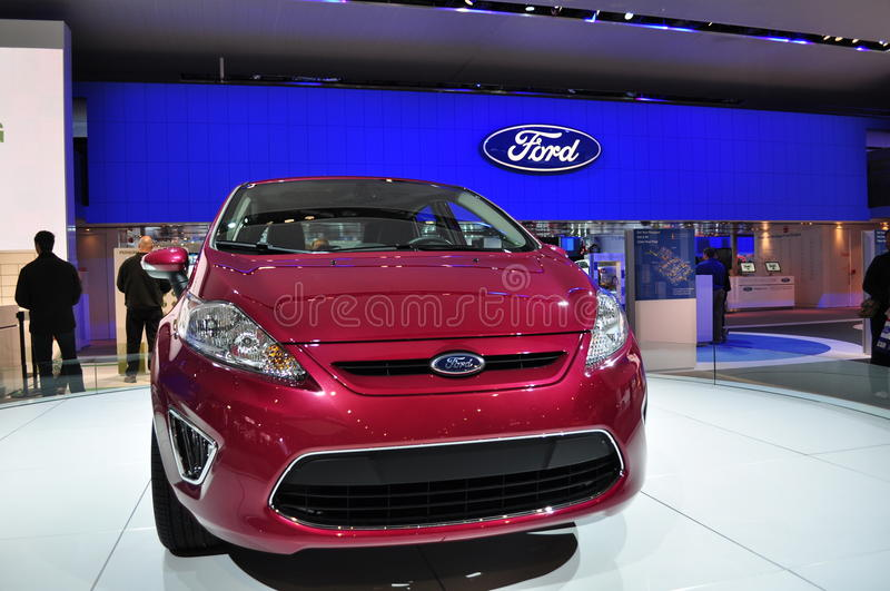 2011 Ford Fiesta stock photo