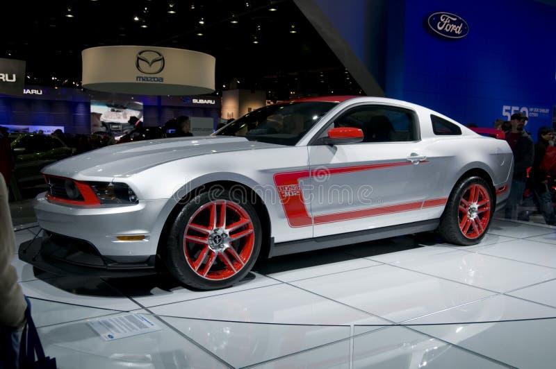 2011 Ford Mustang Boss 302 at NAIAS royalty free stock images