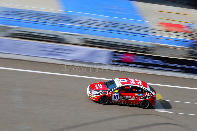 2011 het reizen van China autokampioenschap stock foto's