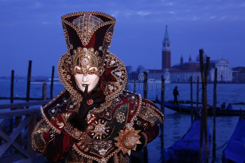2011 karnawałowych Venice obraz royalty free