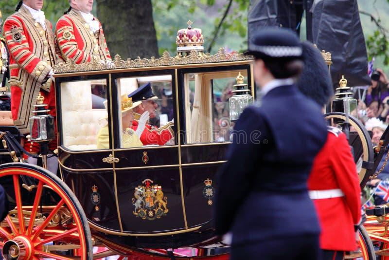 2011 królewski królowa ślub obrazy royalty free
