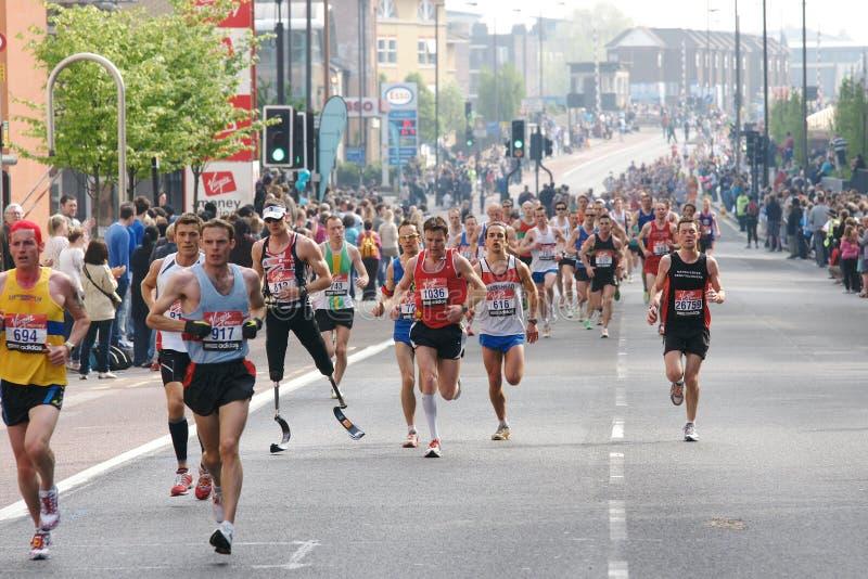 2011 London maraton fotografia royalty free