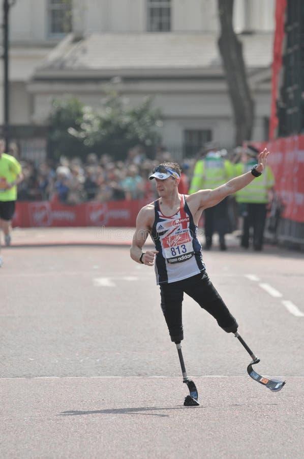 2011 London maratonu dziewica zdjęcie stock