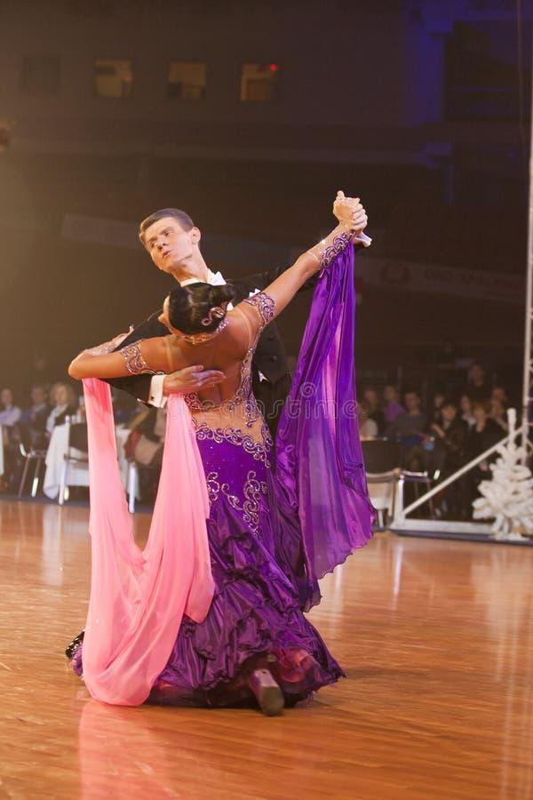 2011 mistrzostwa dancesport idsf Minsk otwarty fotografia stock