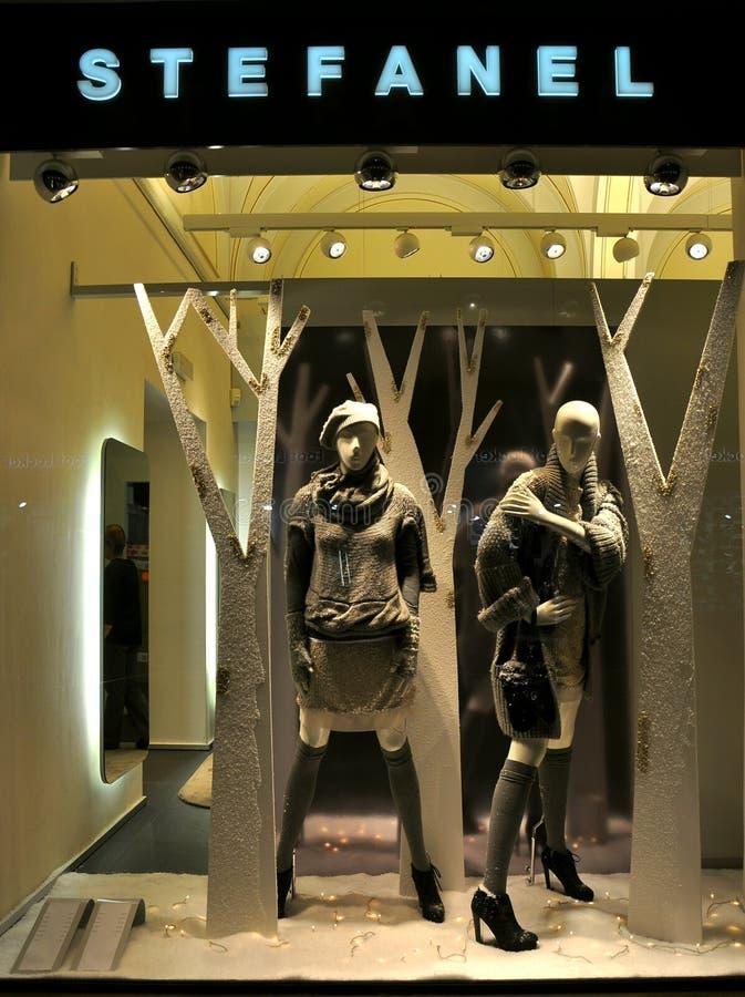 2011 mody stefanel zdjęcie stock