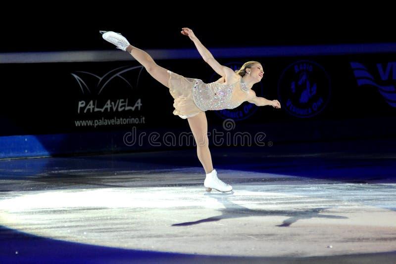 2011 nagrody złota joannie rochette łyżwa obraz stock