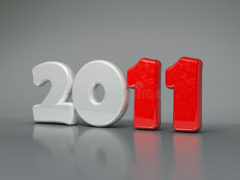 Download 2011 New year symbol stock illustration. Image of year - 15837778