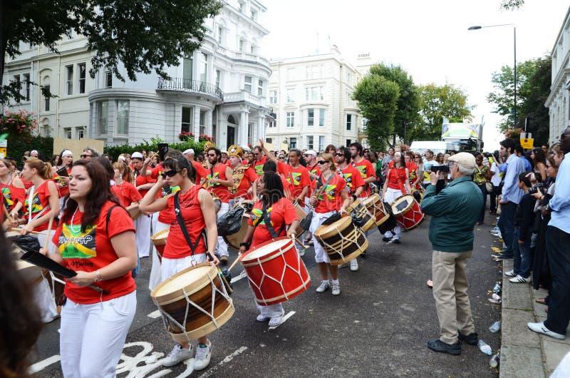 2011 Notting第28威严的狂欢节的小山 编辑类库存图片